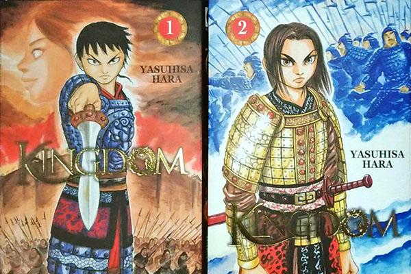 Chronique manga – 01 –  Kingdom T.1 & 2