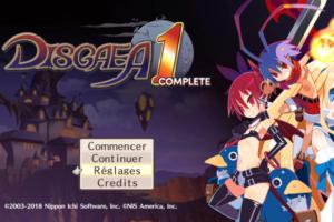 [TEST – PS4 ] – Disgaea 1 Complet  – Un jeu démoniaque ?