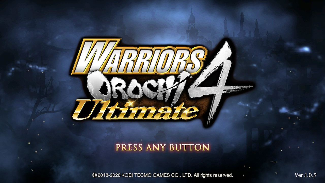 [TEST – SWITCH] – Warriors Orochi 4 Ultimate