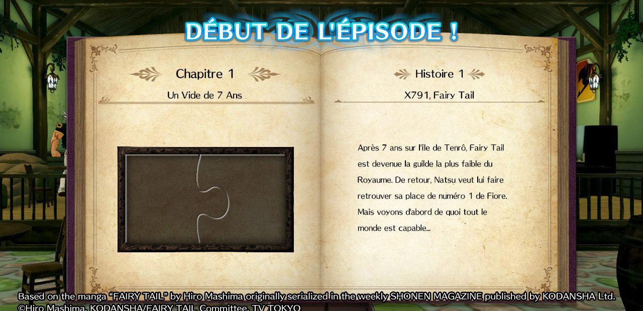 Fairy tail - premier chapitre