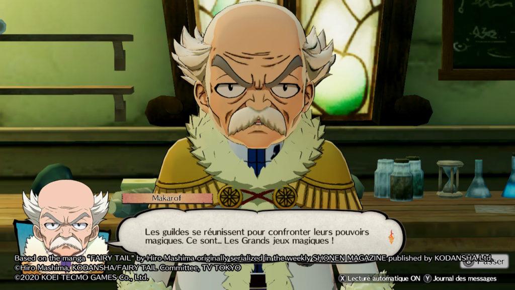 Fairy Tail les grands jeux magiques