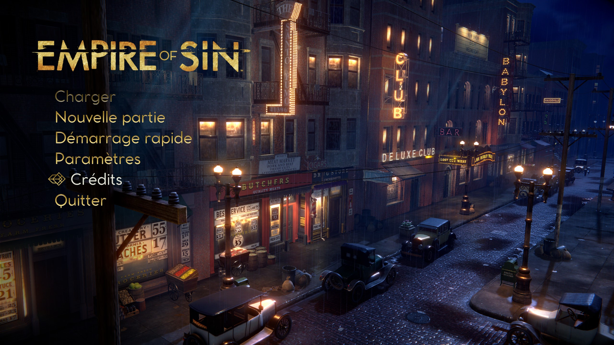 [TEST – PC ] – Empire of sin – Bang bang !